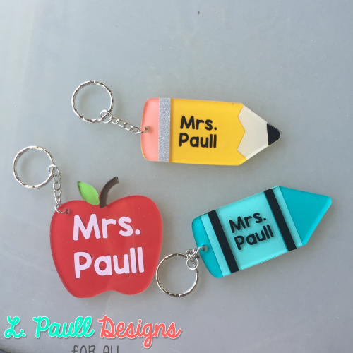 Teacher Key Chains